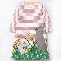 Платье для девочки Bunnies Jumping Meters