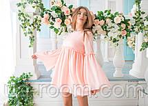 Женское платье креп-шифон №497, фото 2