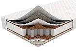 Матрац Extra / Екстра Sleep&Fly (ЕММ) 1500х1900х200 мм незалежні пружини посилений кокос + піна до 150 кг, фото 3