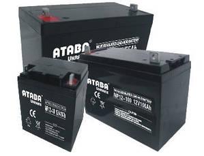 Батарея аккумуляторная 100Ач 12В AGM ATABA