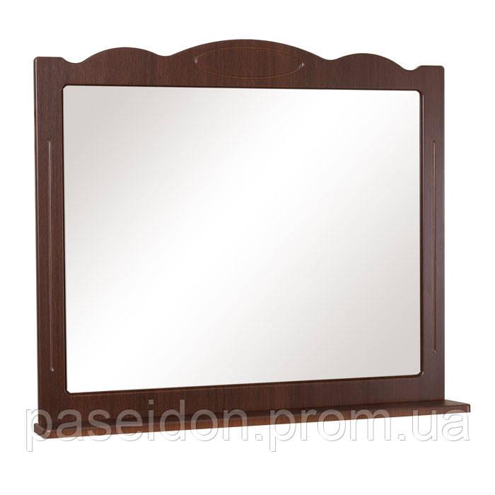 Зеркало АкваРодос «Classic 100» «Белый» / «Итальянский орех»