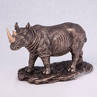 Бронзовая статуэтка Носорог (20*12 см)