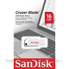 Флешка SanDisk Cruzer Blade 16Gb White USB 2.0
