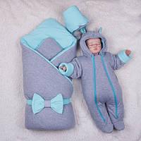 Зимний набор для новорожденных Mini (ментол)