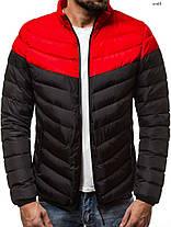 Куртка стеганая мужская J.Style черная, фото 3