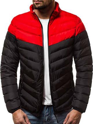 Куртка стеганая мужская J.Style черная, фото 2