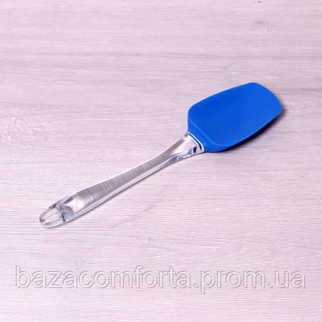 Лопатка силиконовая Kamille 25*6см, фото 2