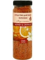 Средство для ванн Honey & Orange 450г Fresh Juice