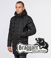13-25 лет | Молодежная зимняя куртка Braggart Youth 25300 серая