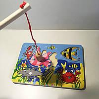 Доска-аквариум с удочкой и рыбками на магнитах