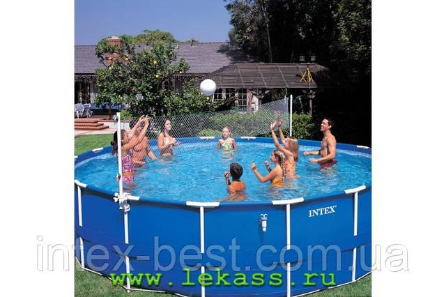 Волейбольная сетка для бассейнов intex 58951 + мяч.