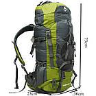 Рюкзак спортивный Jungle King 50L +5L, фото 2