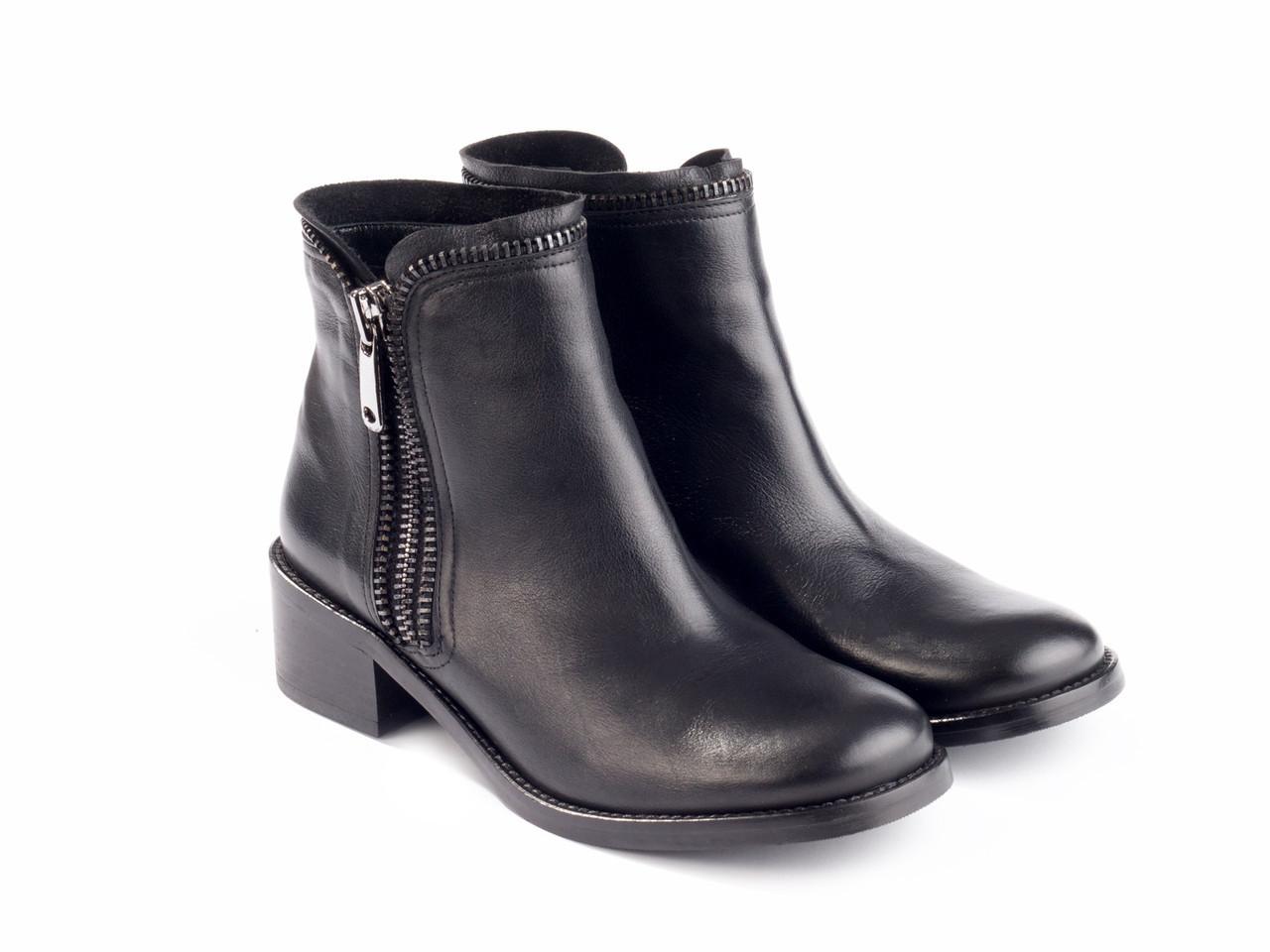 Ботинки Etor 5843-8272 36 черные