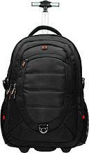 Рюкзак на 2 колесах  Enrico Benetti Cornell Eb47085 001, 55л, черный