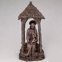 Бронзовая статуэтка Дева Мария c Иисусом на руках (33 см)
