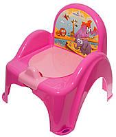 Горшок-стульчик Tega Safari SF-010 127 dark pink