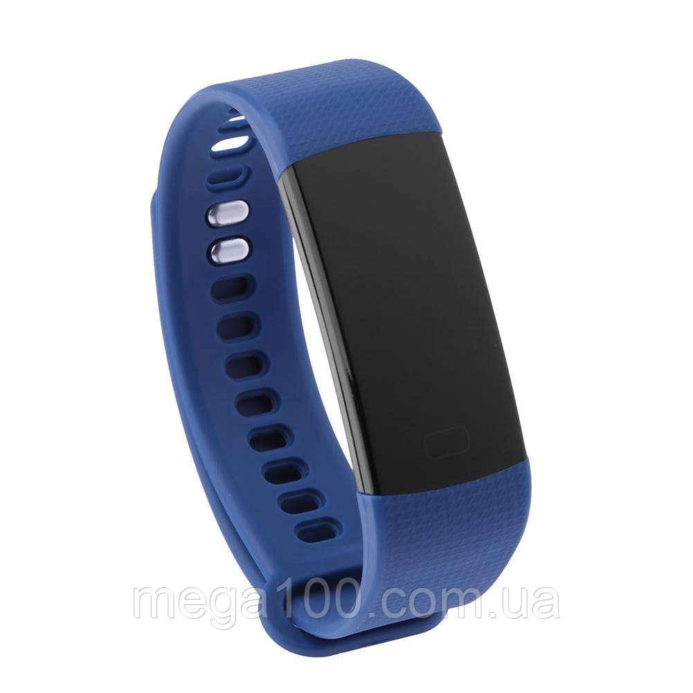 Смарт браслет Y5, фитнес трекер с функцией измерения давления цвет синий