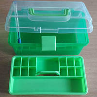 39-Пластиковая тара (контейнер) для упаковки и склада 19×10.50×10.5 см 2 этажа