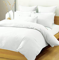 Комплект постільної білизни (сатин) у 2-х кольорах і 5-и розмірах. Білий.