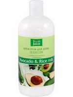 Гель для душа Avocado & Rice milk 500мл Fresh Juice