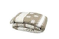 Одеяло шерстяное стеганое 200*220 400г/м2