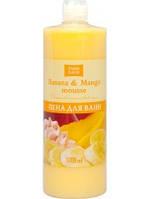 Пена для ванн Banana&Mango mousse 1л Fresh Juice