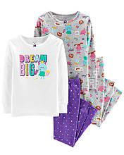 Пижама Картерс (Carter's) для девочки 2Т( 88-93 см)