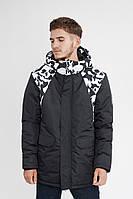 Зимняя куртка мужская парка Urban Planet WM5 SCULLS черепа L XL XXL XXXL