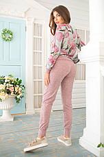 Женский костюм №211 розовый, фото 3