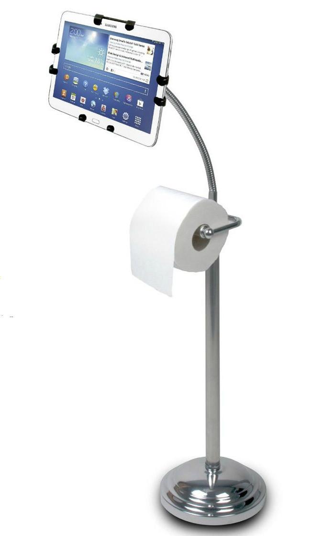 Штатив для планшета, держатель, кронштейн CTA Pedestal Stand with Roll Holder, фото 1