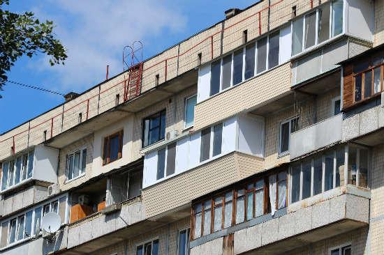 Балкон в серии дома чешка