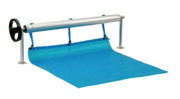 🔥✅Ролета навивочная стационарная 2,7 - 4,4 м Vagner Pool. Наматывающее устройство, фото 2