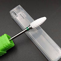 Насадка на фрезер, Фреза керамическая для снятия гель материала, маникюра и педикюра