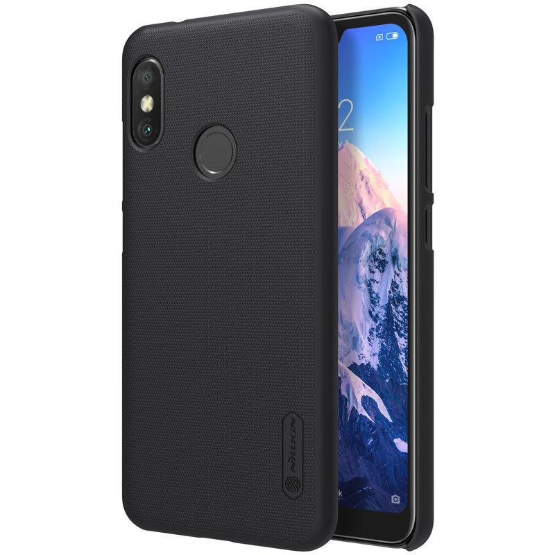 Nillkin Xiaomi Redmi 6 Pro/Mi A2 Lite Super Frosted Shield Black Чехол Накладка Бампер
