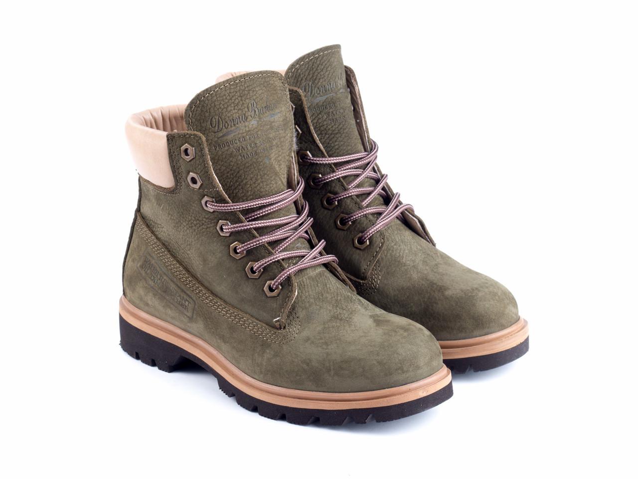 Ботинки Etor 5169-105-383 37 зеленые