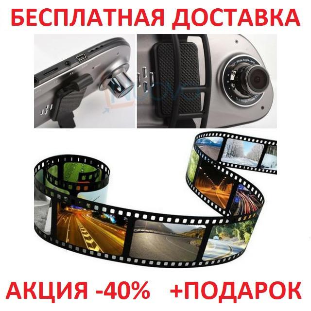 Видеорегистратор зеркало Anytek G77-FDK17 Full HD 1080P на 2 камеры! Original size car digital video