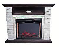 Электрический каминокомплект Bonfire Elison Stone 24 Mood suite ( с подсветкой)