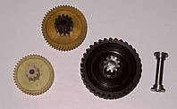 Изготовление зубчатых колес, шестерен, валов из пластика или металла