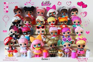 Серия 1 Старшие куклы ЛОЛ