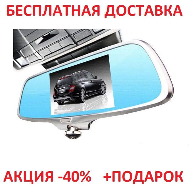 Видеорегистратор зеркало K15-2178 Full HD 1080P на 2 камеры! Original size car digital video
