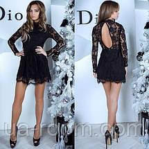 Женское гипюровое платье №419, фото 2