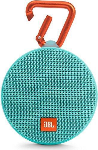 Портативная колонка JBL Clip 2, 3 Вт, IPx7, Bluetooth 4.2, цвет морской волны, фото 1