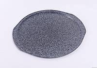 Форма для выпечки пиццы Con Brio CB-513, EcoGranite DeLuxe, 35.5x33x1.5см, толщина 0,4мм
