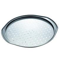 Форма для выпечки пиццы Con Brio CB-520,антипригарное покрытие, 35,8х33,5х1,8см, толщина 0,4мм