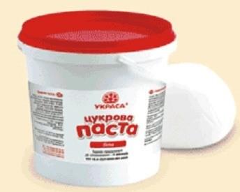 Мастика для торта белая 1кг.Украина - 00340