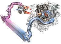 Интеркулер, патрубки интеркулера Volkswagen (VW)