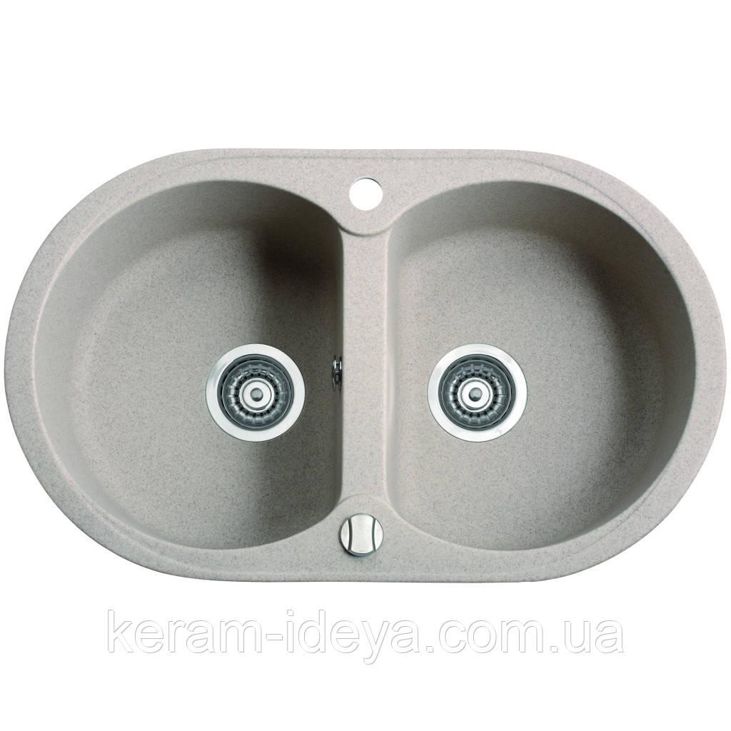 Кухонна мийка MARMORIN DURO 1302030 770х470х190