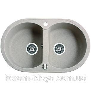 Кухонна мийка MARMORIN DURO 1302030 770х470х190, фото 2