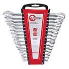 ET-6094 Профессиональный набор инструментов 94ед + Подарок HT-1204 Набор ключей комбинированных 15ед INTERTOOL ET-6094.A, фото 2