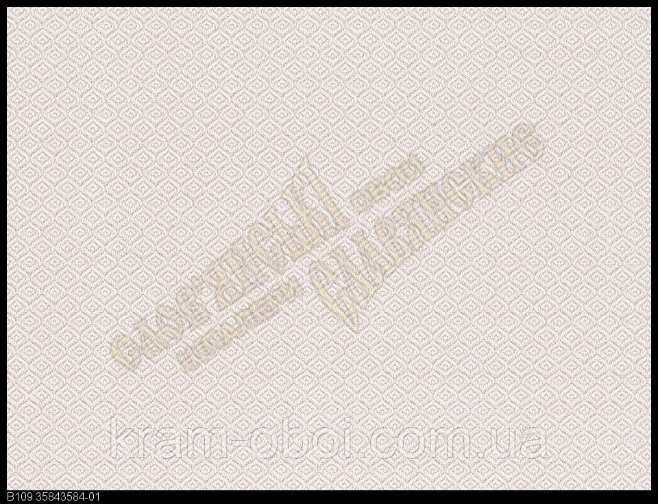 Шпалери Слов'янські Шпалери КФТБ вінілові на флізеліновій основі 9В109 Дамаск 3 3584-01